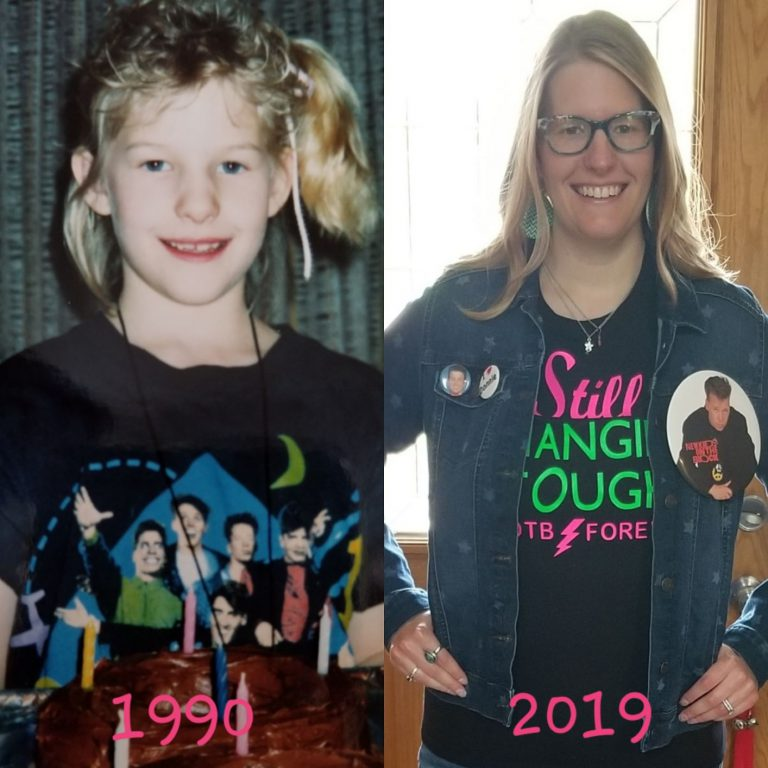 "New Kids On The Block Kept Me ""Hangin' Tough"" through Trauma and Helped Heal My Chronic Illnesses, Healing ""Little Kara"""